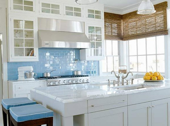 Colorful Kitchen Backsplash Pictures_18 at In Seven Colors ...