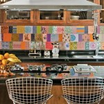 Colorful Kitchen Backsplash Pictures_19