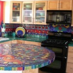Colorful Kitchen Backsplash Pictures_26