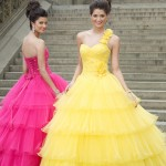 Colorful Quince Dresses for Your Fairy Tale Wedding_1