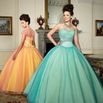 Colorful Quince Dresses for Your Fairy Tale Wedding_11