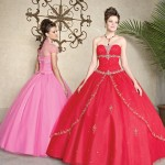 Colorful Quince Dresses for Your Fairy Tale Wedding_12