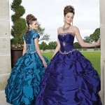 Colorful Quince Dresses for Your Fairy Tale Wedding_13