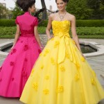 Colorful Quince Dresses for Your Fairy Tale Wedding_2