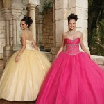 Colorful Quince Dresses for Your Fairy Tale Wedding_3