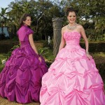 Colorful Quince Dresses for Your Fairy Tale Wedding_4