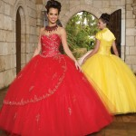 Colorful Quince Dresses for Your Fairy Tale Wedding_5