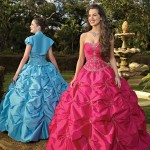 Colorful Quince Dresses for Your Fairy Tale Wedding_6