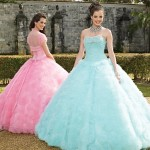 Colorful Quince Dresses for Your Fairy Tale Wedding_7