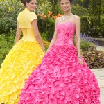 Colorful Quince Dresses for Your Fairy Tale Wedding_8