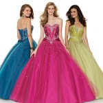 Colorful Quince Dresses for Your Fairy Tale Wedding_9