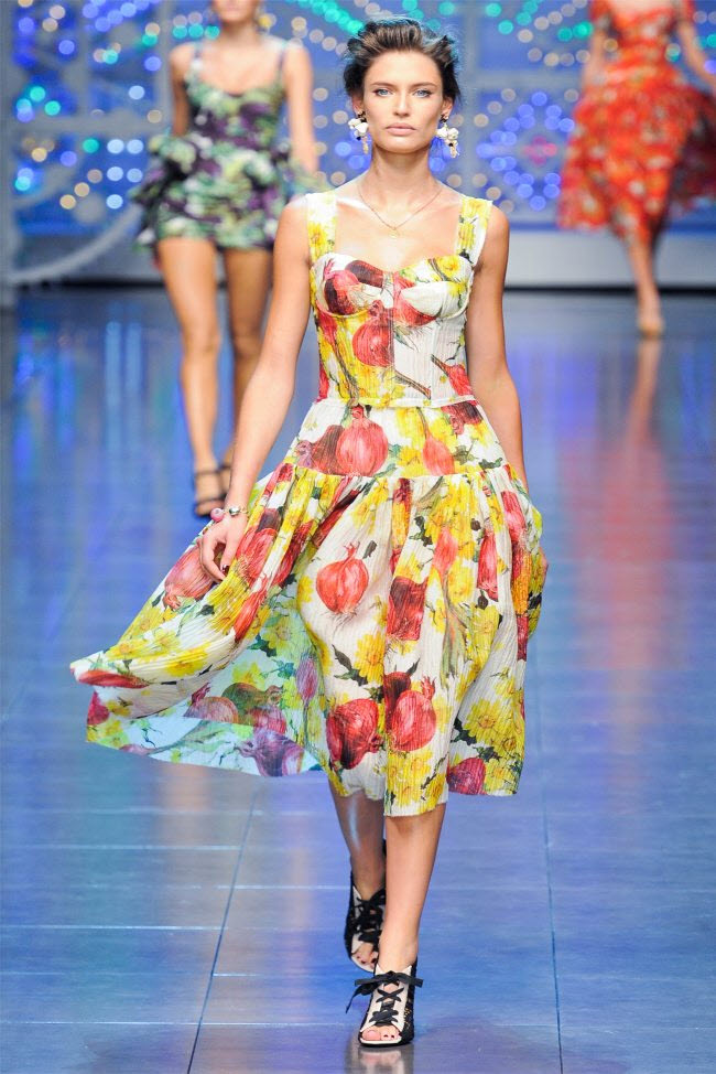 Colorful Ready-to-wear Dresses by Dolce & Gabbana