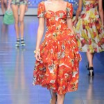 Colorful Ready-to-wear Dresses by Dolce & Gabbana_1
