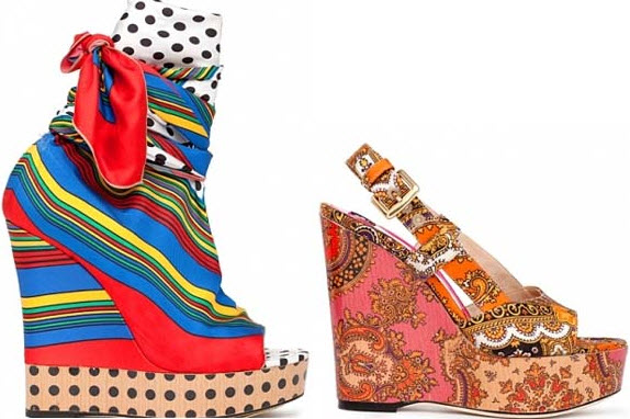 Colorful Wedges Shoes_2