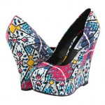 Colorful Wedges Shoes