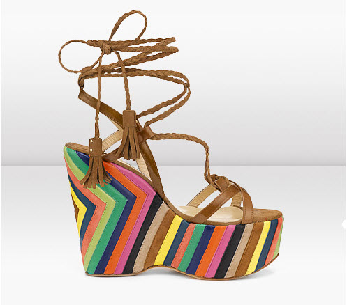 Colorful Wedges Shoes_8