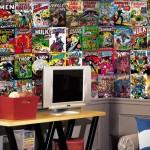 Comic Book Cover Wallpaper Mural