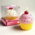 Colorful Cupcake Candles
