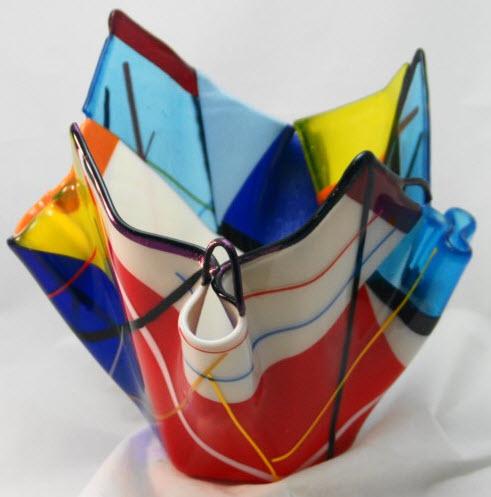 Multi Colored Glass Vases_2