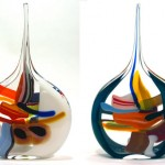 Multi Colored Glass Vases_4