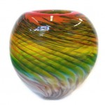 Multi Colored Glass Vases_6