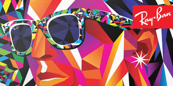 Pop Art Ray-Ban Rare Prints Ads