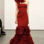Red Wedding Dresses by Vera Wang_12