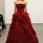 Red Wedding Dresses by Vera Wang_2