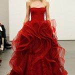 Red Wedding Dresses by Vera Wang_9