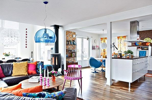 20 Colorful Apartment Decorating Ideas_10