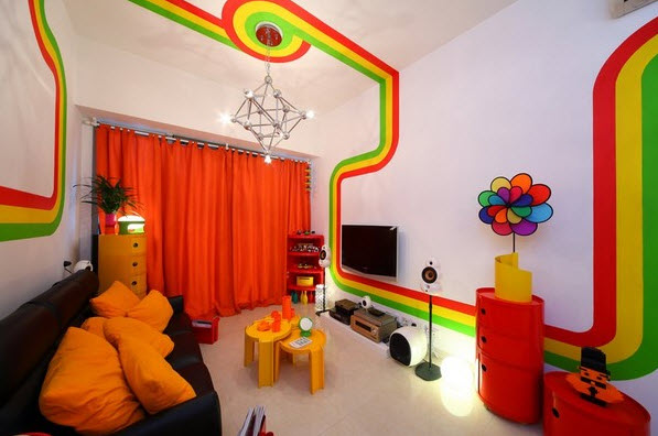 20 Colorful Apartment Decorating Ideas_16
