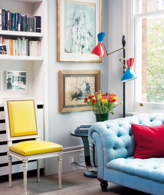 Apartment Colors 20 colorful apartment decorating ideas_5 at in seven colors