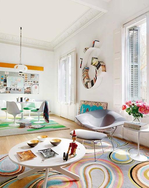 20 Colorful Apartment Decorating Ideas_3