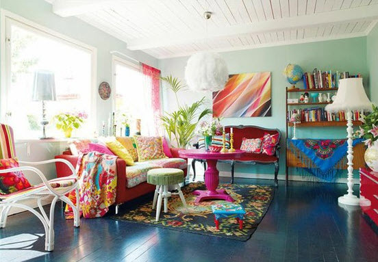 20 Vibrant Decorating Ideas for Living Rooms_11