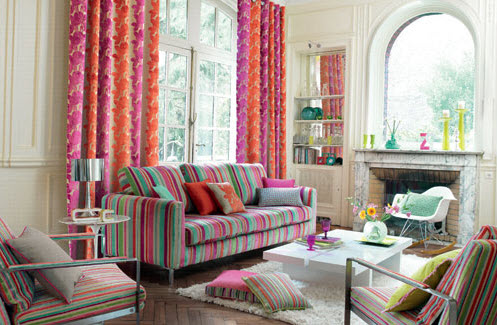 20 Vibrant Decorating Ideas for Living Rooms_14