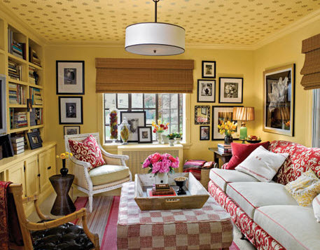 20 Vibrant Decorating Ideas for Living Rooms_2