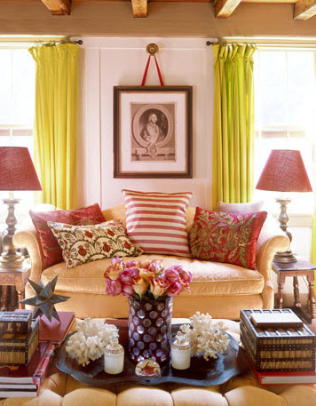 20 Vibrant Decorating Ideas for Living Rooms_3