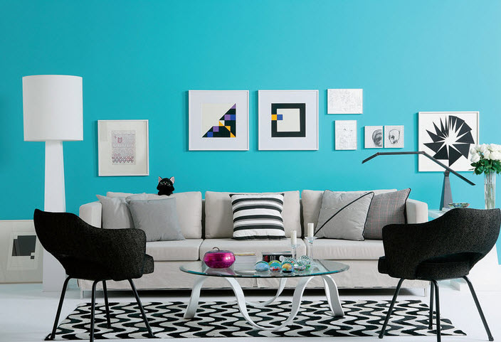 20 Vibrant Decorating Ideas for Living Rooms_4