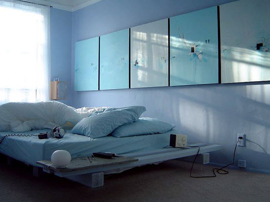 15 Amazing Blue bedroom design ideas_12