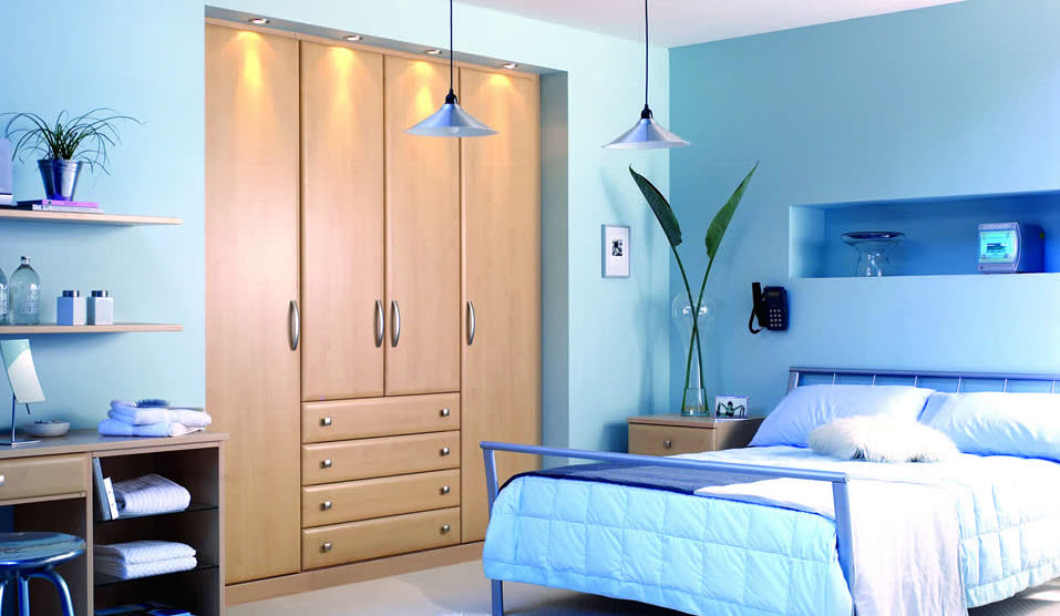 15 Amazing Blue bedroom design ideas_2