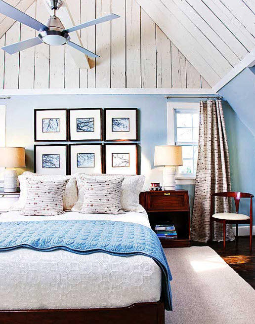 15 Amazing Blue bedroom design ideas_7
