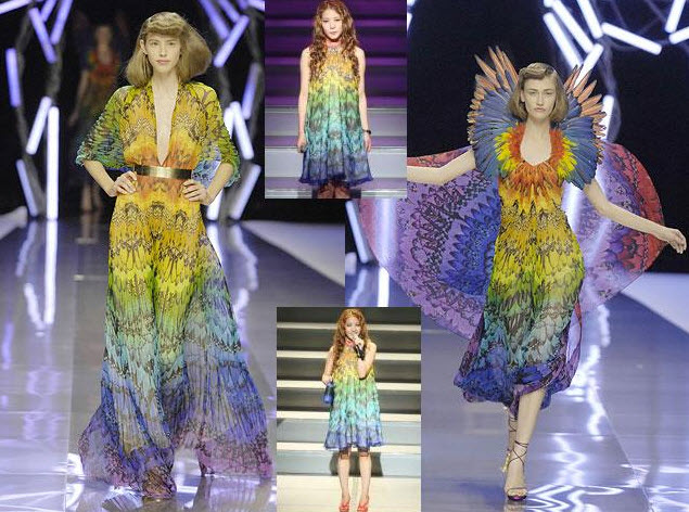 Best Alexander McQueen Multi-colored Dresses_8