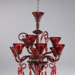 Colorful Chandelier Dining Room Light Fixtures_1