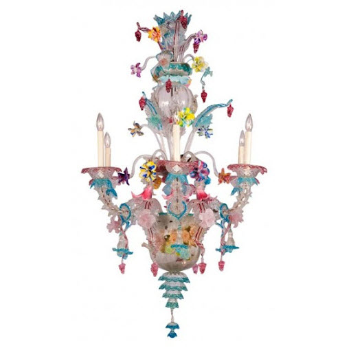 Colorful Chandelier Dining Room Light Fixtures_14