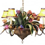 Colorful Chandelier Dining Room Light Fixtures_3