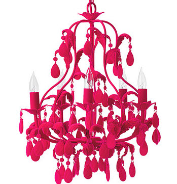 Colorful Chandelier Dining Room Light Fixtures4 at In Seven Colors