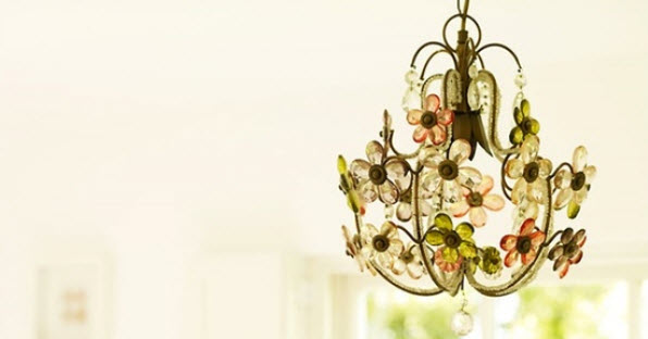 Colorful Chandelier Dining Room Light Fixtures_9