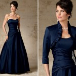 Light Mother of the Groom Dresses for Summer, Satin Ball Gown