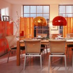 Pendant Lighting for Dining Room with Fun Colors_2