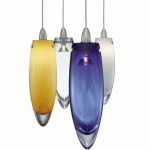 Pendant Lighting for Dining Room with Fun Colors_4